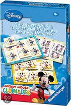 Mickey Mouse: Vind De Verschillen!
