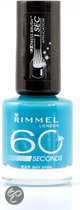 Rimmel 60 Seconds Finish - 825 Sky High - Blauw - Nagellak