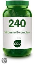 AOV 240 Vit. B complex 50mg 60 stuks - Voedingssupplement