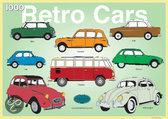 RosiesFactory - Retro Cars Doos - Legpuzzel - 1000 Stukjes