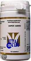 Vital Cell Life Koper Amino Tabletten 100 st