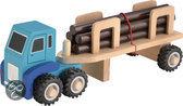 Vrachtwagen voor houttransport