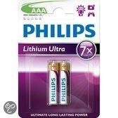 Philips Lithium Ultra Batterij FR03LB2A