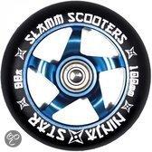 Stunt Step wielen Slamm Ninja Stars blauw 100mm