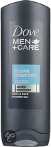 Dove Men+Care Shower Clean Comfort - 250 ml - Douchegel