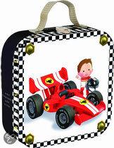 Janod Puzzelkoffer Fleurus Gabin's Formule 1