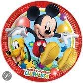 Bordjes Mickey Mouse 23 cm: 10 stuks (81508P)