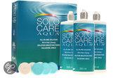 Solocare Aqua - 3 x 360 ml - Lenzenvloeistof