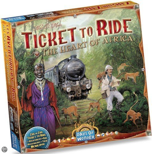 Ticket To Ride Africa - Uitbreiding
