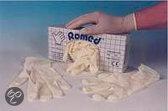 Romed Latex Onderzoekshandschoen Medium Box 100st