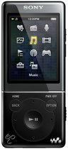 Sony NWZ E474 - Walkman Video MP3 speler 8 GB - Zwart