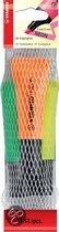 Stabilo Boss Neon Markeerstift - 3 Stuks