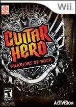 Guitar Hero, Warriors of Rock (Game Only)  Wii