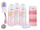 NUK First Choice - Startersset - Roze