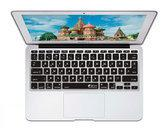 Russische QWERTY ISO Keyboard Cover voor MacBook Air 11