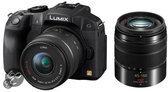 Panasonic Lumix DMC-G6 + 14-42mm + 45-150mm - Systeemcamera - Zwart