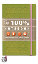 100% Notebook small green e