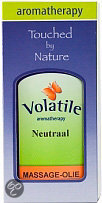 Volatile Massageolie Neutraal 100 ml