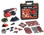 Black & Decker Autoselect 4 in 1 multischuurmachine + 19 accessoires KA280K
