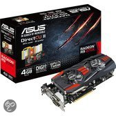 ASUS R9270X-DC2-4GD5 - Graphics card - Radeon R9 270X - 4 GB GDDR5 - PCI Express 3.0 x16 - 2 x DVI, HDMI, DisplayPort