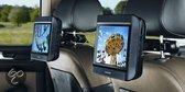 Nextbase Click 9 Lite Duo Deluxe - Portable DVD-speler met 2 schermen en 2 spelers - 9 inch - Zwart