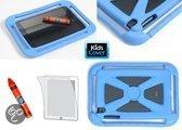 KidsCover iGripper Mini Beschermhoes - Geschikt voor Apple iPad Mini - Blauw