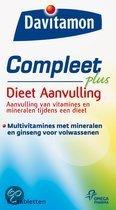 Davitamon Compleet + Gewicht - 60 Tabletten - Multivitamine