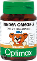 Optimax Kinder Omega-3 Capsules 50 st