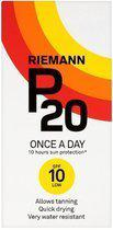 Riemann P20 Once A Day Factor 10 - 200 ml - Zonnebrandlotion