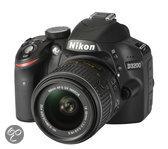 Nikon D3200 + 18-55mm VR II - Spiegelreflexcamera - Zwart