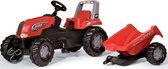 Rolly Toys Tractor Rollyjunior Met Aanhanger
