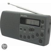 Salora CRP625 - Draagbare Radio - Grijs