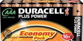 Duracell Plus Power AAA Batterijen - 16 Stuks