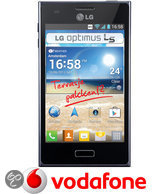 LG Optimus L5 - Zwart - Vodafone prepaid telefoon