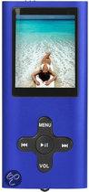 Difrnce MP1850 - MP3-speler - 8 GB - Blauw