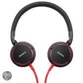 Sony MDR-ZX600 - On-Ear Koptelefoon - Rood