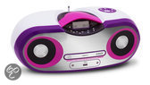 Radio en CD speler - Wit / Roze