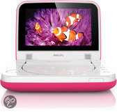 Philips PD7006 - Portable DVD-speler - 7 inch - Roze