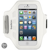 Belkin EaseFit Sport Armband voor de Apple iPhone 5 - Wit