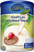 Weightcare maaltijdshake +  Appel- Kaneel