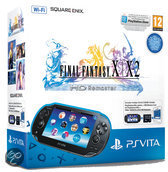 Sony PlayStation Vita Handheld Console WiFi + Final Fantasy X + X-2 HD Remaster Download Voucher + 4GB Memory Card - Zwart PS Vita Bundel