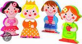 Janod Funny Baby Dolls - Magneten