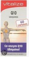 Vitalize q10 ubiquinol - 60 Capsules