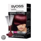 SYOSS Mixing Colors 5-32 Dark Cherry Mix - Haarkleuring