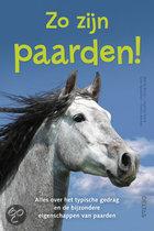 Zo zijn paarden!