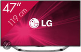 LG 47LA6908 - 3D led-tv - 47 inch - Full HD - Smart tv