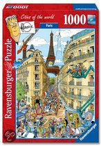 Ravensburger Fleroux Parijs - Puzzel - 1000 Stukjes