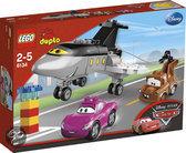 LEGO Duplo Cars Siddeley Schiet te Hulp - 6134