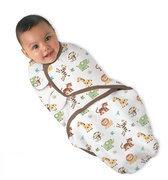 Summer Infant - Swaddleme Inbakerdoek - Jungle large