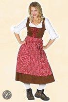 Oktoberfest Lange tiroler jurk 44 (2xl)